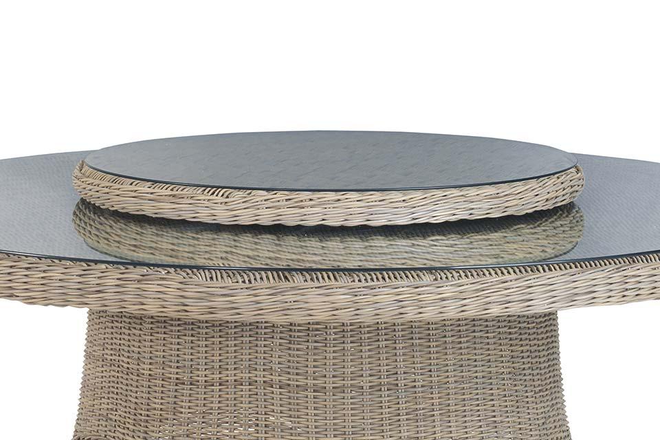 4 Seasons Outdoor | Draaiplateau Lazy Susan 90 cm | Pure