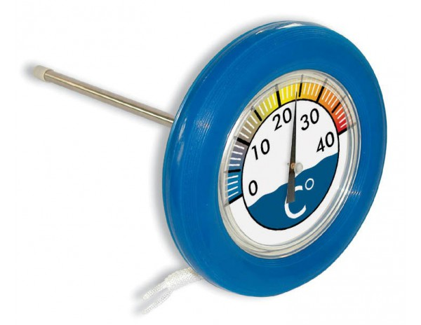 PoolStyle | Drijvende thermometer ringvormig