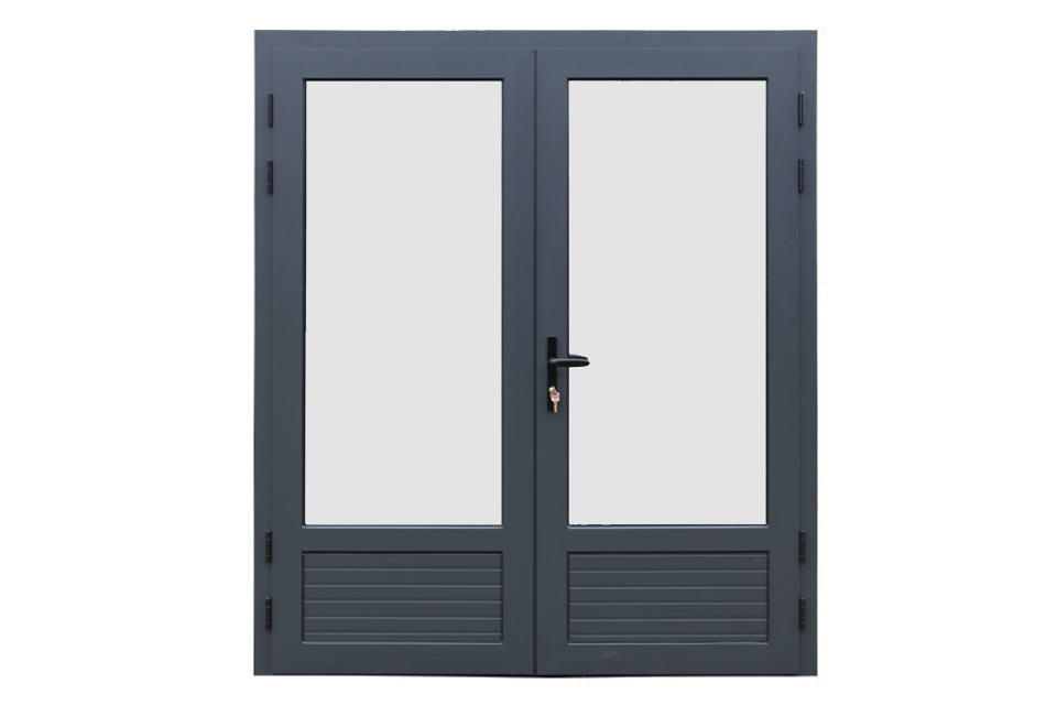 Fonteyn | Aluminium Deur Dubbel | 3/4 Glas