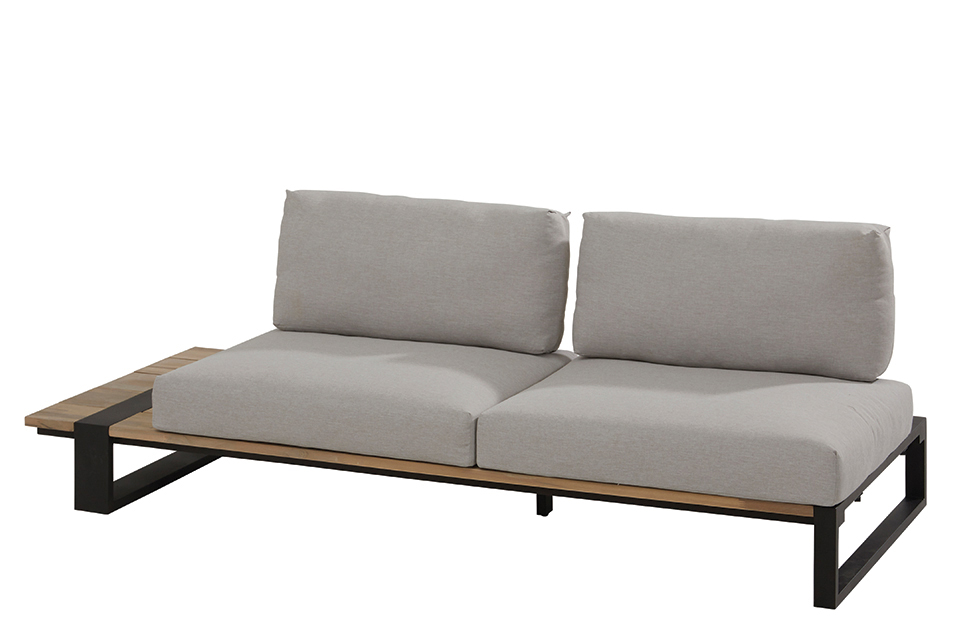 4 Seasons Outdoor | Loungebank Duke 2-zits Rechts