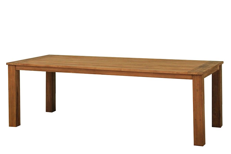 Eettafel 220x100 cm Java - Teak - Fonteyn