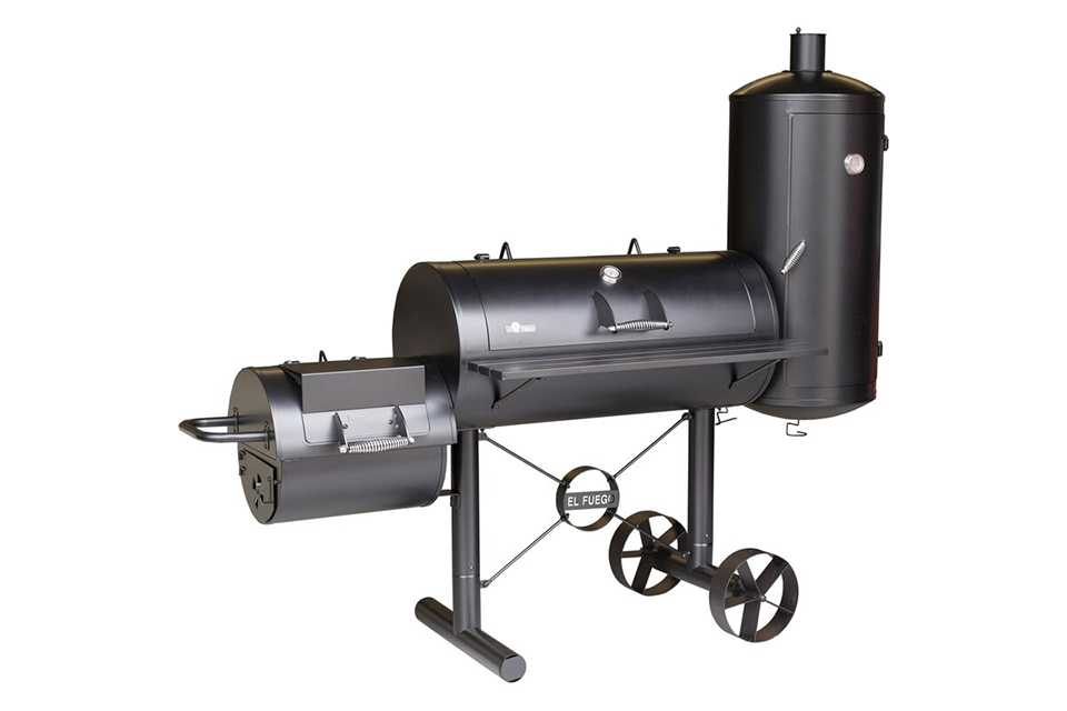 El Fuego | Kiona Offset Smoker | Houtskool BBQ
