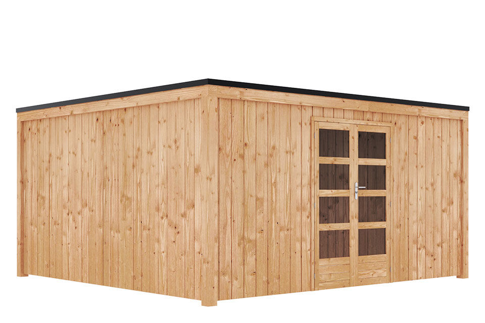 Duxwood   Tuinhuis Garden Design 120   450 x 450 cm   Douglas