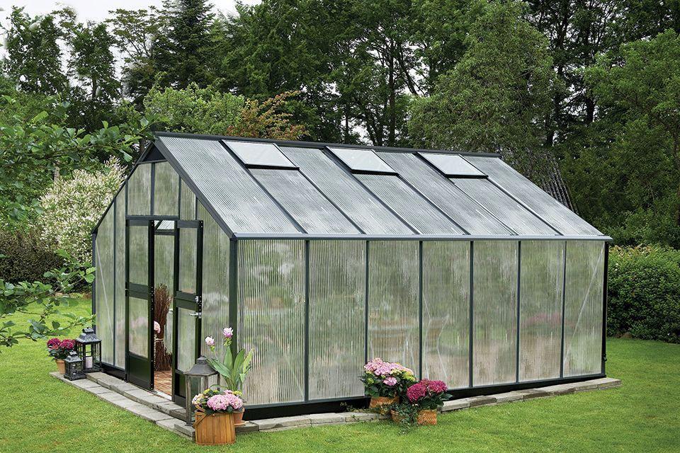 Royal Well | Tuinkas Gardener 188 met PC 10 mm | Antraciet