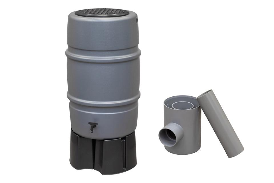 Harcostar   Regenton 227 liter Compleet   Grijs