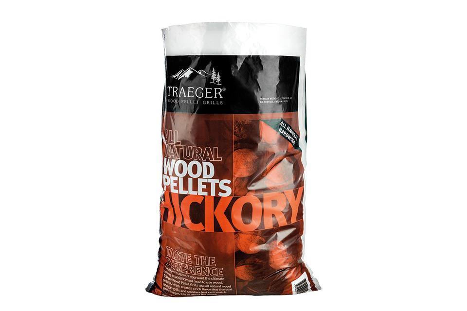 Traeger | Hickory BBQ Pellets | 9 kg
