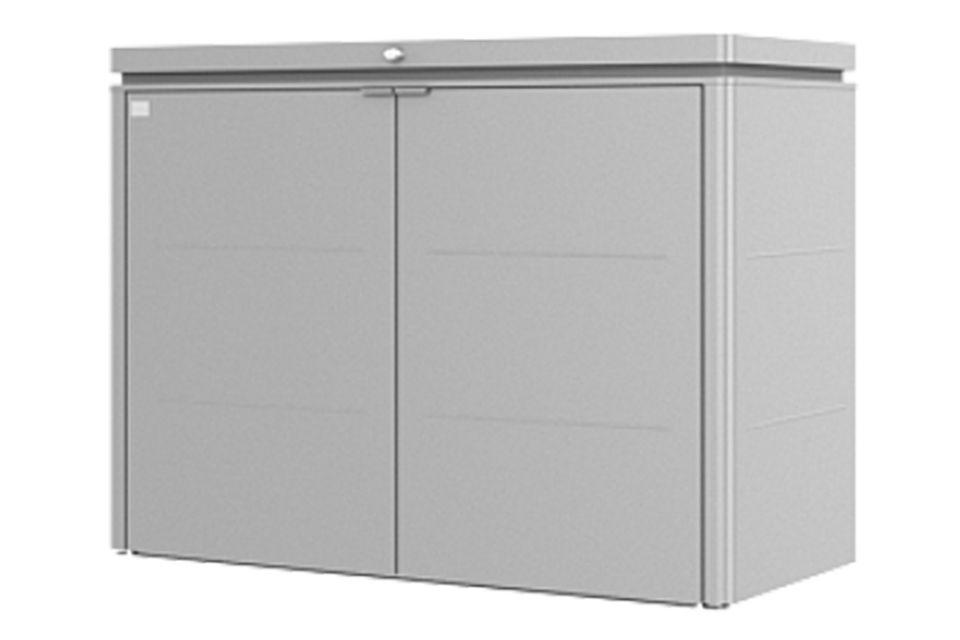 Biohort   Opbergkast HighBoard Gr. 160   Zilver-Metallic