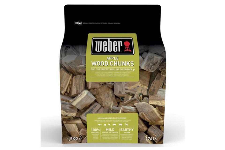 Weber | Houtblokjes 1,5 kg | Apple