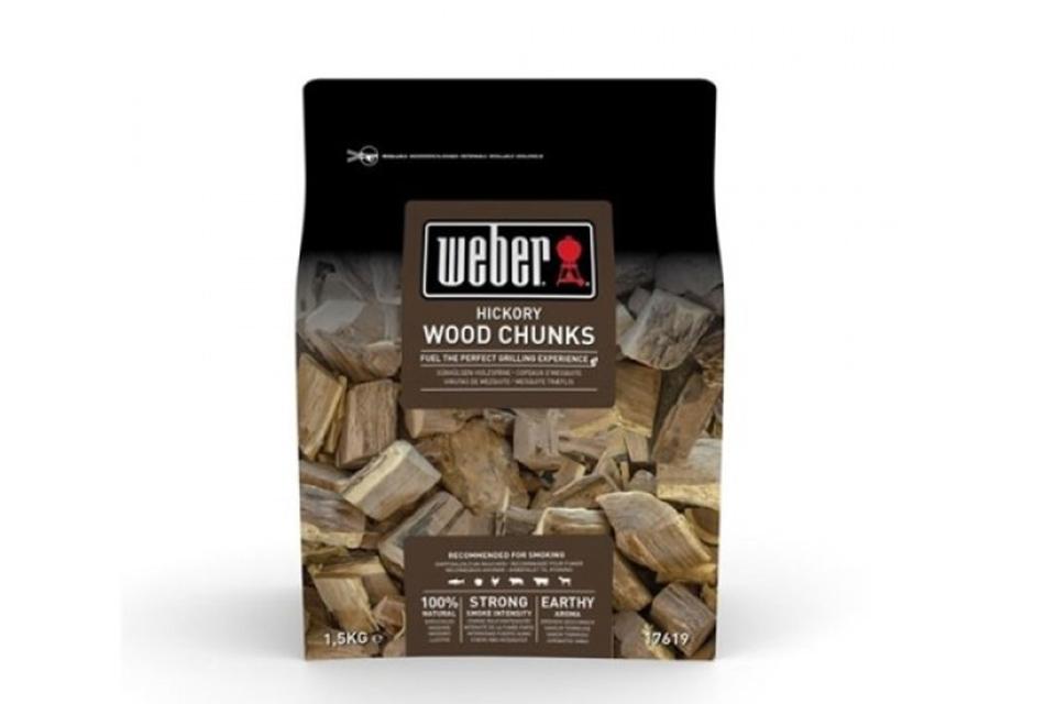 Weber | Houtblokjes 1,5 kg | Hickory