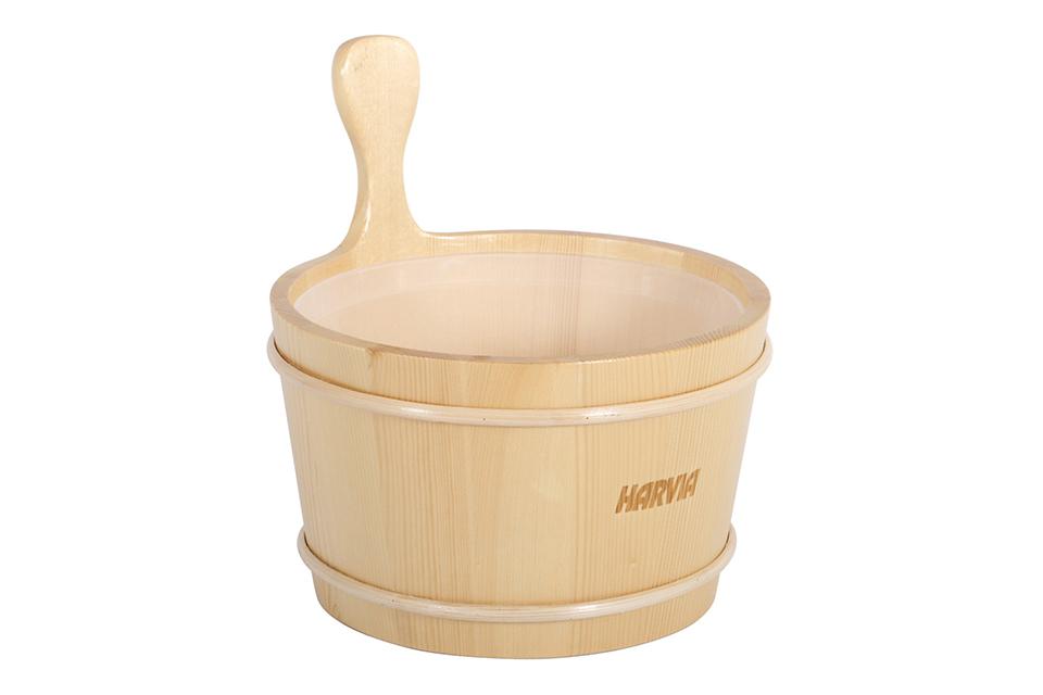 Harvia | Houten Opgietemmer 4 liter met Plastic Binnenpot