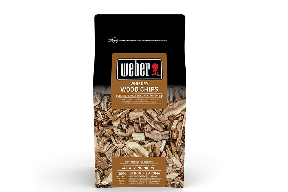 Weber | Houtsnippers 0,7 kg | Whisky Wood