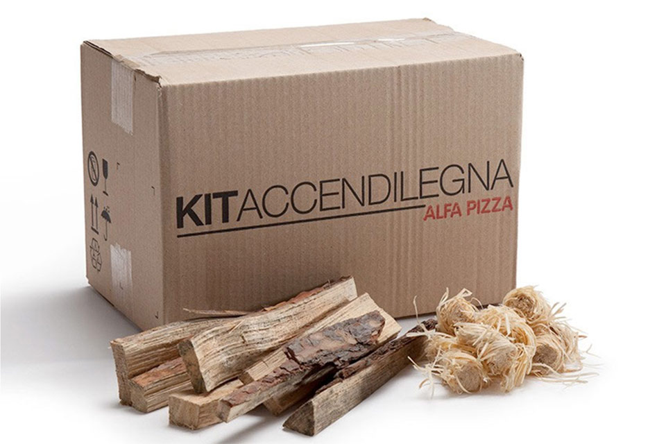 Alfa Pizza   Kit Accendilegna