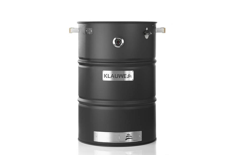 KLAUWE Basic, BBQ & Smoking Drum Mat Zwart - 2018