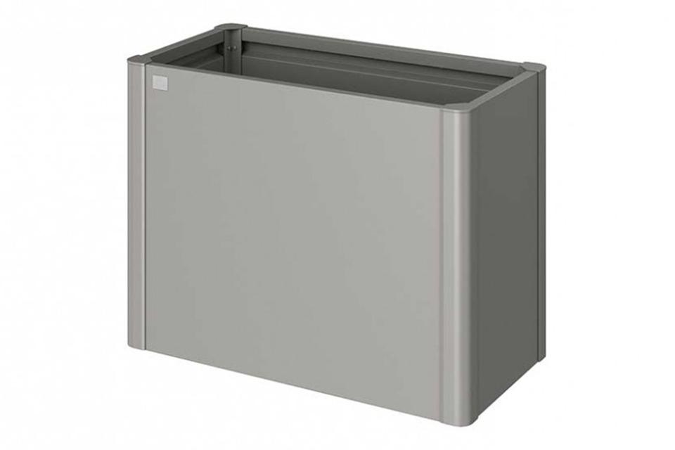 Biohort | Moestuinbox Gr. 1 x 0,5 | Kwartsgrijs-Metallic