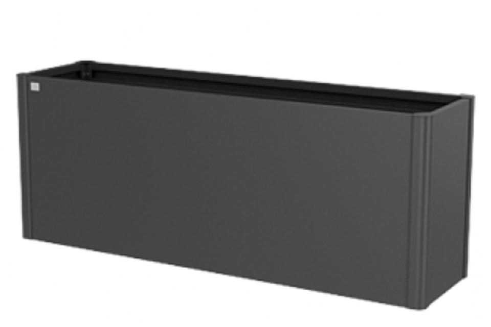 Biohort | Moestuinbox Gr. 2 x 0,5 | Donkergrijs-Metallic