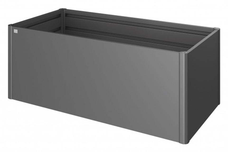 Biohort | Moestuinbox Gr. 2 x 1 | Donkergrijs-Metallic