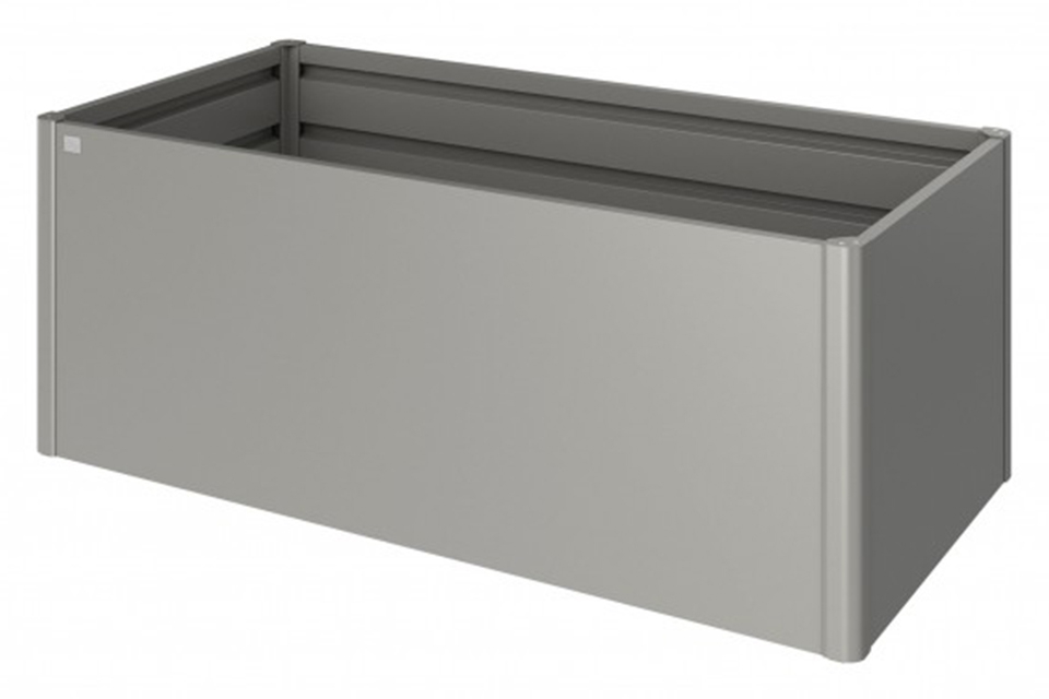 Biohort | Moestuinbox Gr. 2 x 1 | Kwartsgrijs-Metallic