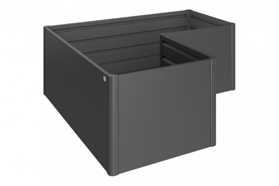 Biohort | Moestuinbox Gr. L | Donkergrijs-Metallic