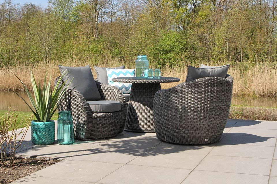 Artie | Lounge-Diningset Lotus | Charcoal