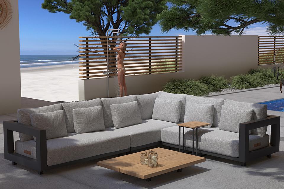4 Seasons Outdoor | Loungeset Metropolitan