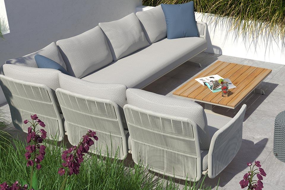 4 Seasons Outdoor | Loungeset Play Panel