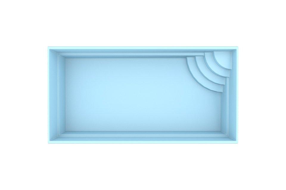 Fonteyn | Polyester Zwembad Mallorca 600 x 300 x 150 cm