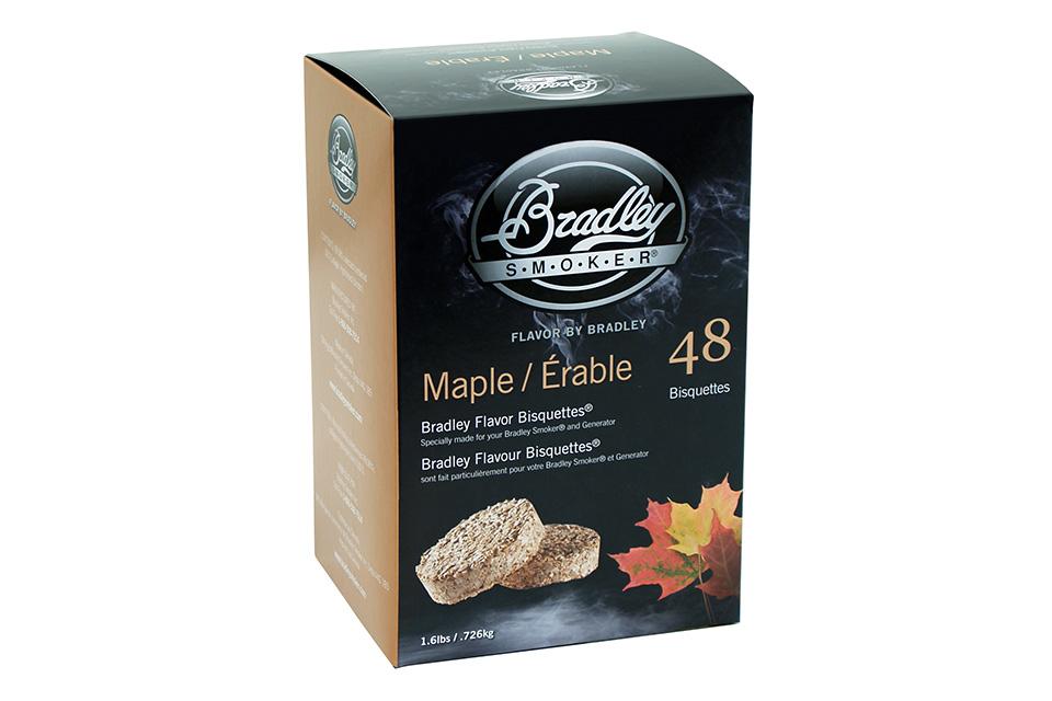 Bradley Smoker | Bisquettes Esdoorn | 48 Stuks