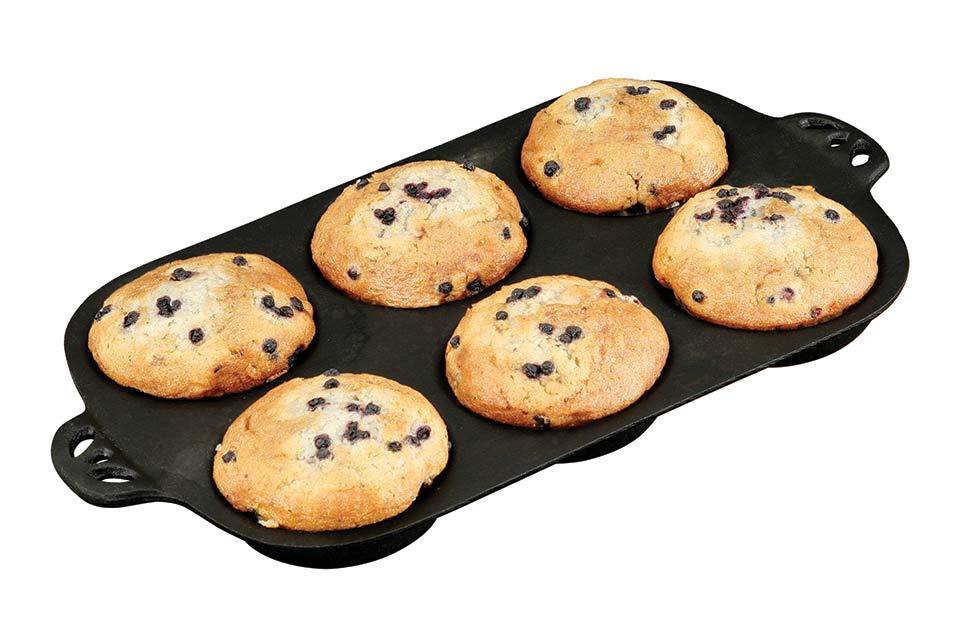 Camp Chef | Muffin Bakvorm | Gietijzer | Ø 9,5cm
