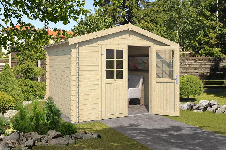 Outdoor Life Products | Tuinhuis Norah 275 x 275