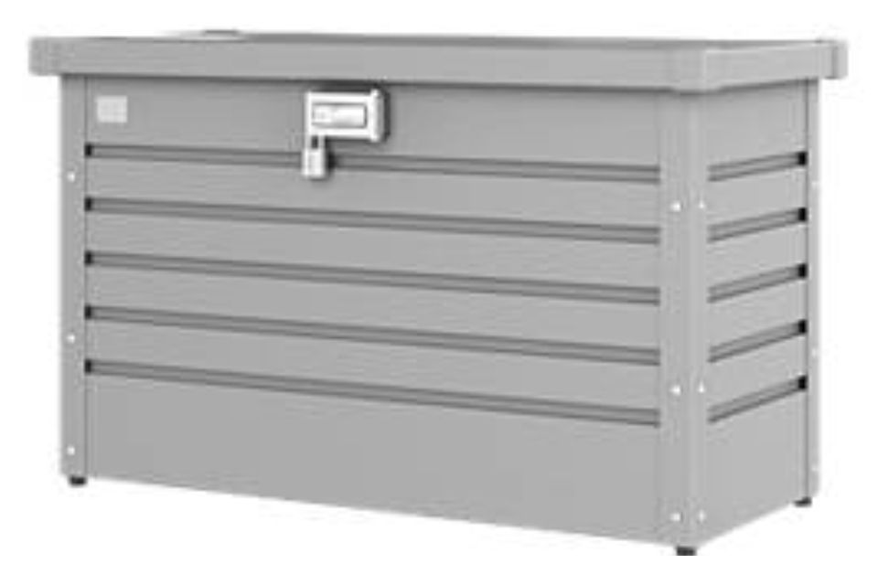 Biohort | Pakkettenbox 100 | Zilver-Metallic