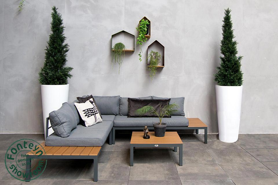 Fonteyn | Loungeset Palma | Antraciet