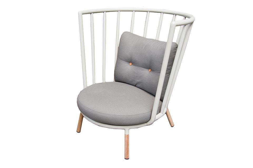 Kun Design | Loungestoel Pipe | Hoge Rug