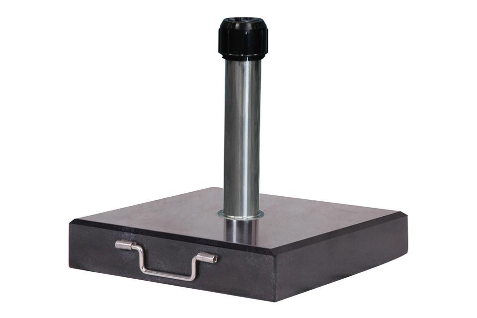 Platinum | Parasolvoet Rome Graniet | 60 kg