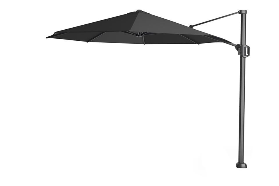 Platinum | Zweefparasol Challenger T¹ Premium Ø350 cm | Faded Black