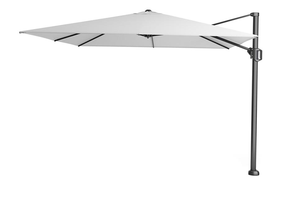 Platinum | Zweefparasol Challenger T¹ 300 x 300 cm | Wit