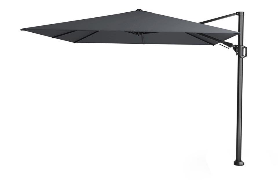 Platinum | Zweefparasol Challenger T² 300 x 300 cm | Antraciet