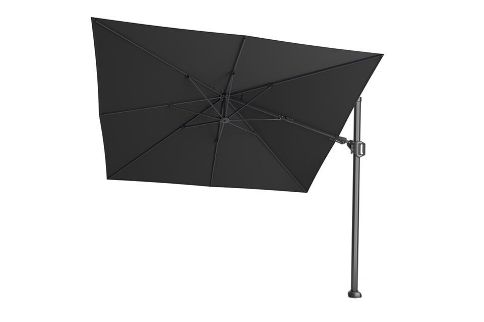 Platinum | Zweefparasol Challenger T² Premium 300 x 300 cm | Faded Black