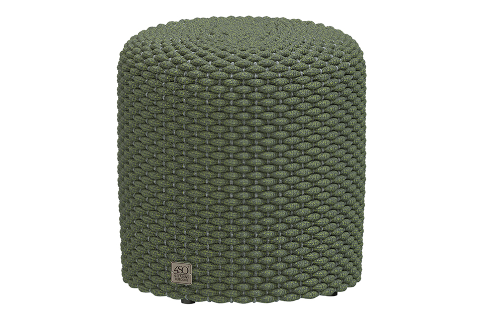 4 Seasons Outdoor | Muffin Poef Ø40 cm | Groen