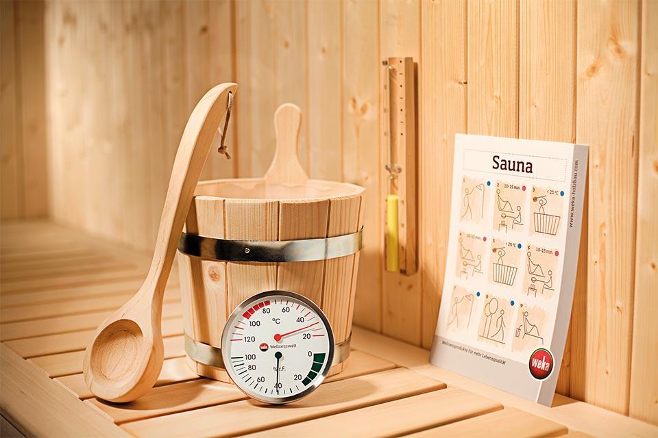 Weka | Premium Sauna Accessoireset