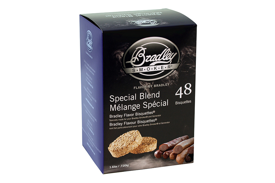 Bradley Smoker | Bisquettes Special Blend | 48 Stuks