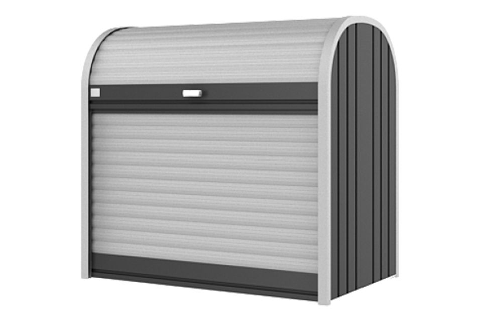 Biohort   Opbergbox StoreMax 120   Donkergrijs-Metallic