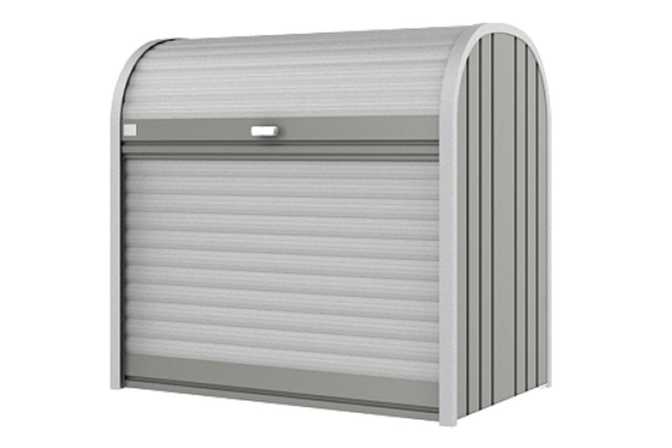 Biohort | Opbergbox StoreMax 120 | Kwartsgrijs-Metallic