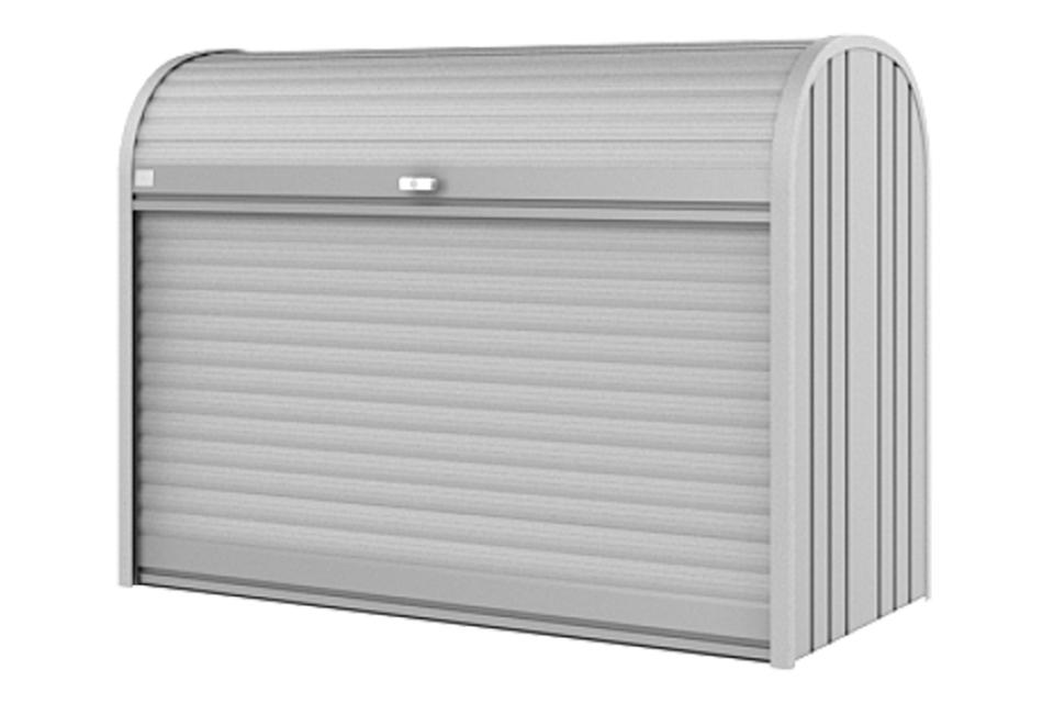 Biohort | Opbergbox StoreMax 160 | Zilver-Metallic