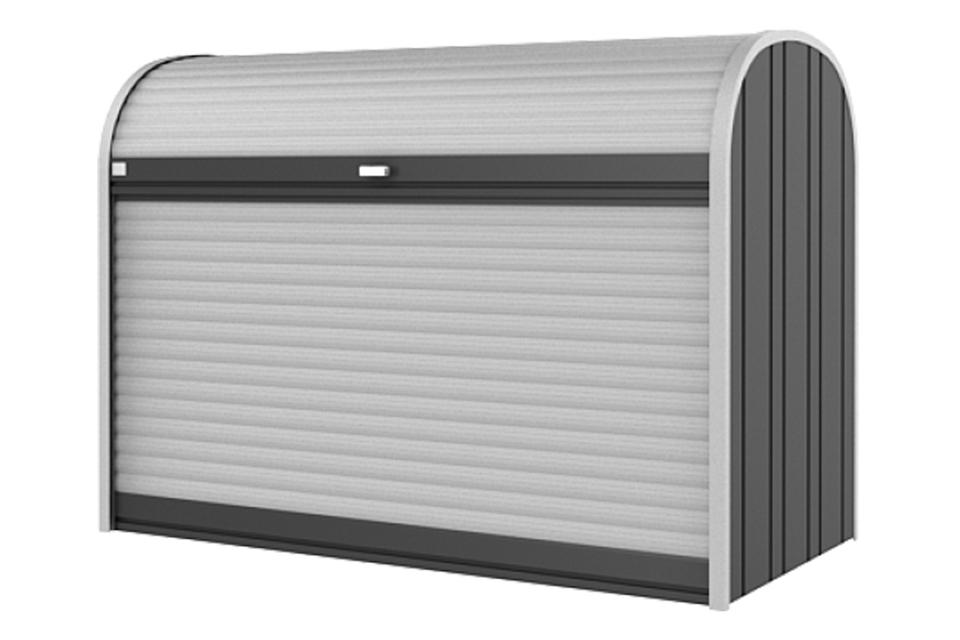 Biohort | Opbergbox StoreMax 190 | Donkergrijs-Metallic