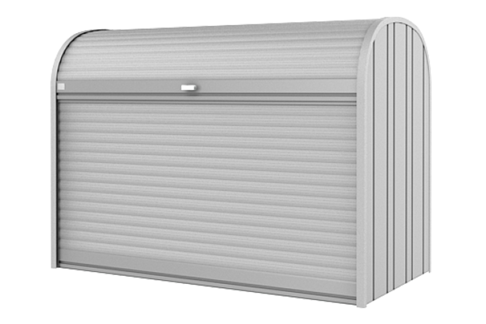 Biohort | Opbergbox StoreMax 190 | Zilver-Metallic
