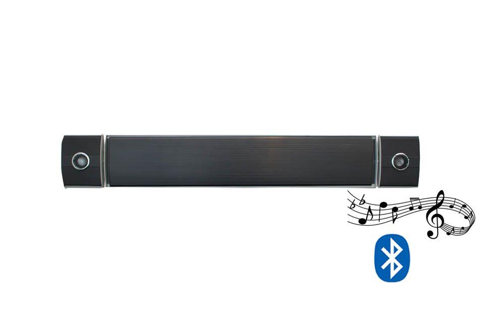 Fonteyn | Infrarood Heatpanel 2400 | Met Muziek