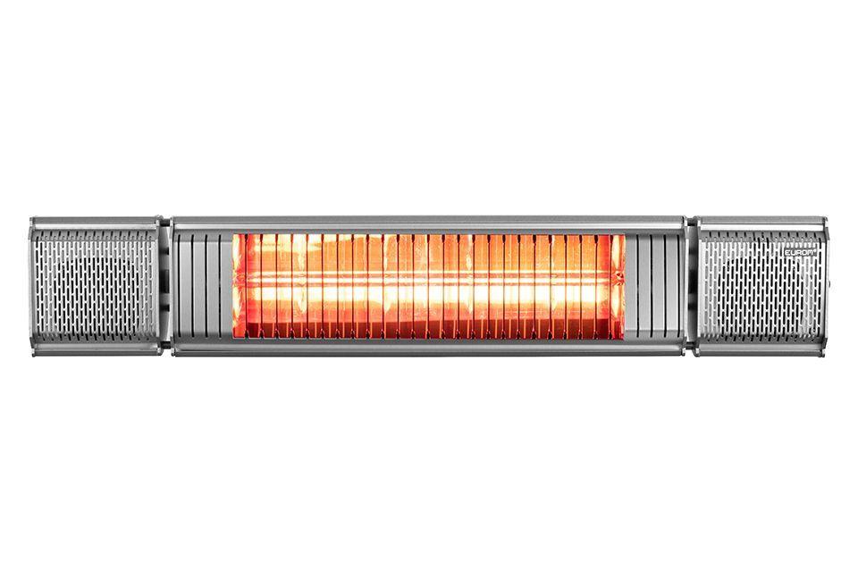 Eurom | Heat and Beat Grijs | Infrarood Verwarming