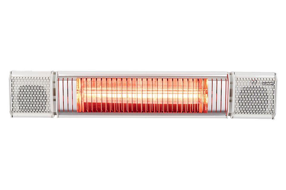 Eurom | Heat and Beat Wit | Infrarood Verwarming