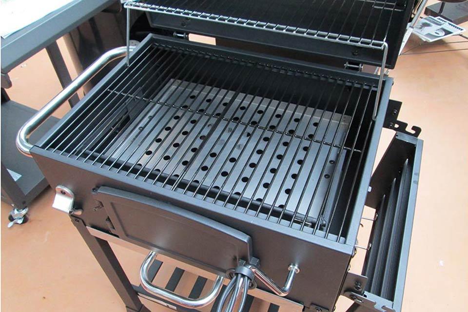 Bester Holzkohlegrillwagen : Holzkohle grillwagen holzkohlegrill bbq grill smoker