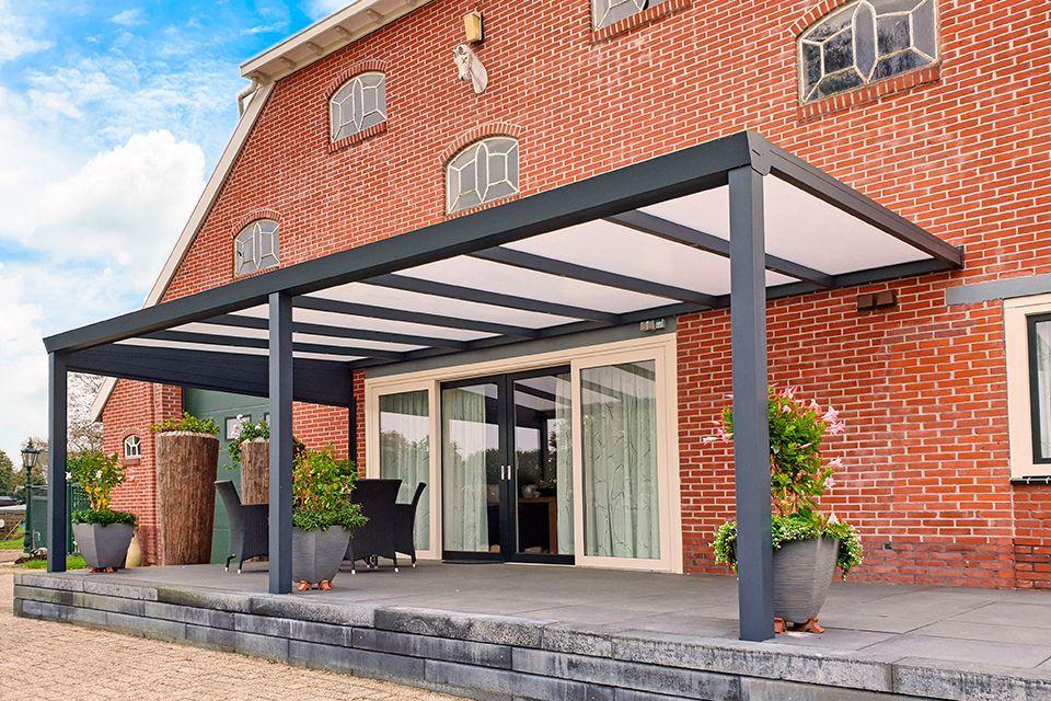Aluxe Trendline veranda met platen 5000x4000